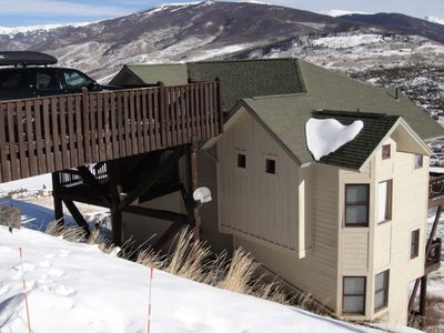 Our Mountain Retreat makes you feels on top of the world!!