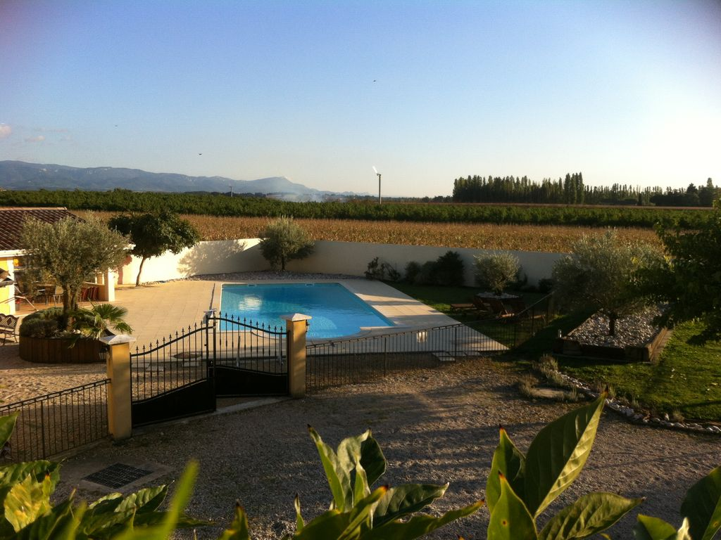 Mas des oliviers bourg de p age location de vacances for Sejour piscine privee