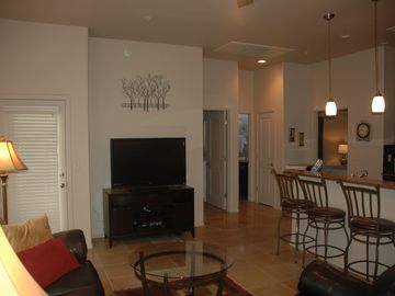 Tucson condo rental - Open Living Room