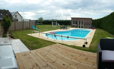 High Class 2 Gites Heated Swimming Pool, Jacuzzi  Sauna Magnificent Country View