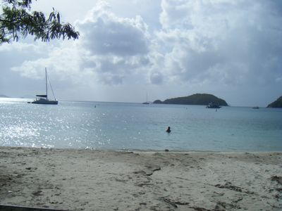 Visit any of the many St. John beaches