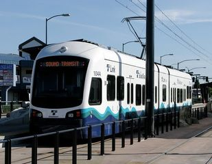Seattle condo photo - Link Light Rail offers service between Sea-Tac Airport and downtown Seattle.