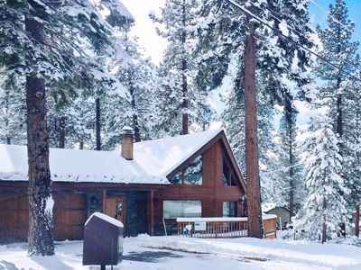 Wintertime at Tahoe Chalet