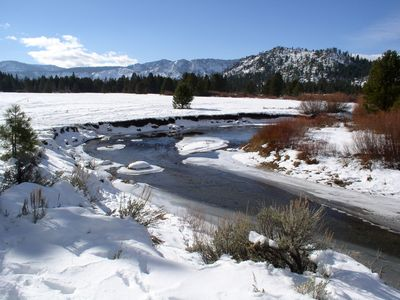 Upper Truckee River and meadow