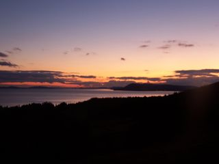 Baddeck house photo - Sunset