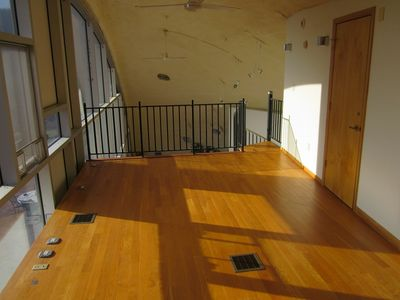 Roxbury house rental - Opposite side of Mezzanine.
