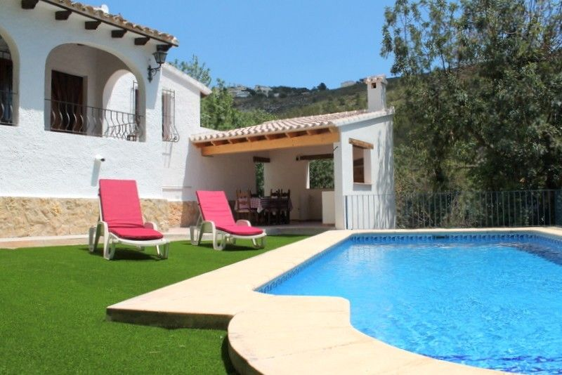 Villa in Teulada mit Terrasse, Pool, Internet, Garage (6852)[R