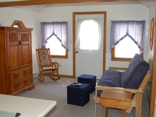 Plum Island cottage photo - Living Room with full futon