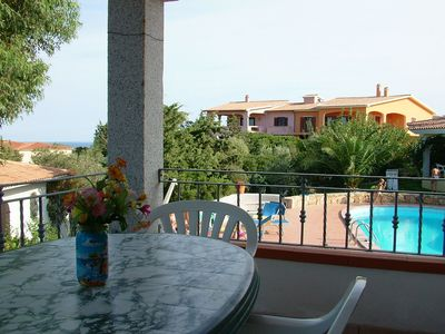 San Teodoro apartment rental - Terrace of No 5