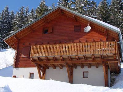 Detached chalet between Morzine and Chatel