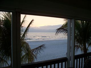 Fort Myers Beach house photo - View from Covered Porch