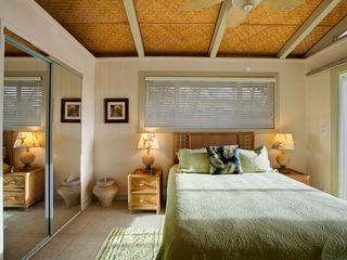 Kapoho house photo - Guest Room with Queen Size Bed and Ocean Front View