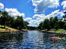 Beautiful Barton Springs - just a 10 minute walk from the house