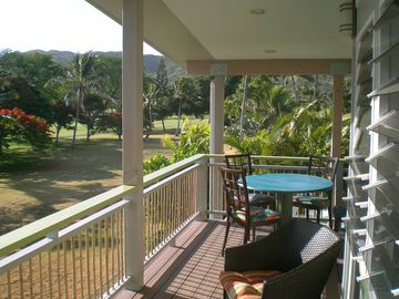 Picture yourself enjoying coffee or cocktails on your private deck!