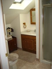 Old Forge villa photo - Second Floor Bathroom With Walk In Shower