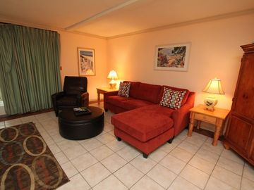Dewees Island condo rental - Living Room with brand NEW furniture