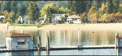 Indian Summer--the Gumprecht House from the Coeur d' Alene Resort