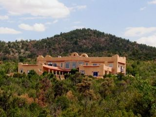 Santa Fe estate photo - The Hacienda