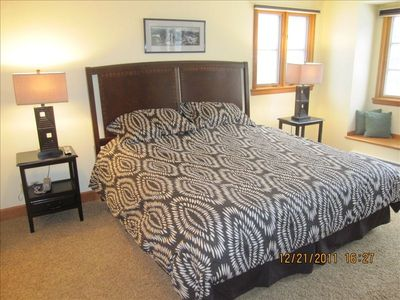 Beaver Creek townhome rental - Bedroom #2. Refinished in July, 2011.
