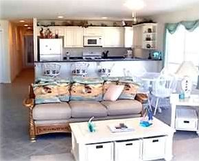 North Wildwood condo rental - Living Room: Includes Queen Sleeper/Sofa