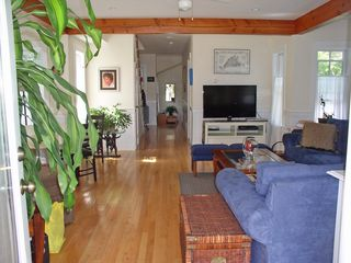 Oak Bluffs house photo - Welcome! Enjoy the new 42 inch HDTV and DVD player, put up your feet and enjoy!