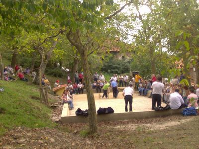 Bowls tournament in the village