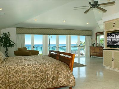 Master Bedroom - King Bed - Best Ocean View