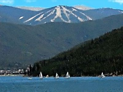 Keystone condo rental - Beautiful Lake Dillon by Keystone offers many relaxing on-the-water activities.