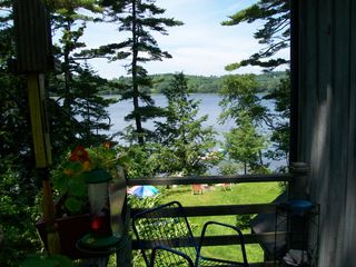 Damariscotta apartment photo - From the deck - the waterfront & sunsets.