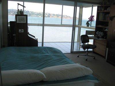 Sausalito apartment rental - view from the bed room/office
