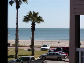 Corpus Christi condo photo - View of beach and sand from balcony