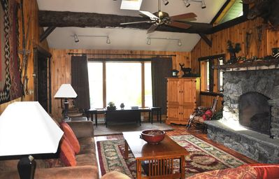 Lake Placid house rental - Great Room