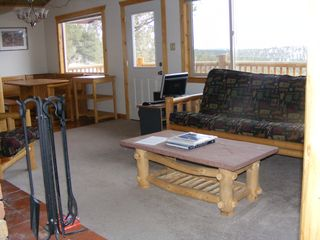 Florissant cabin photo - Living room