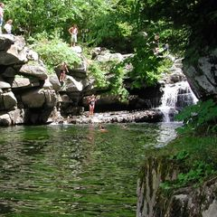Cedar Lake cottage photo - Enjoy a swim in a cool mountain stream at nearby Bristol Falls