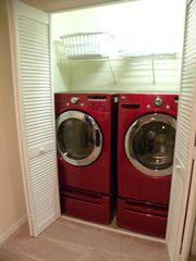 Bellavida Resort house photo - LG high capacity washer and dryer