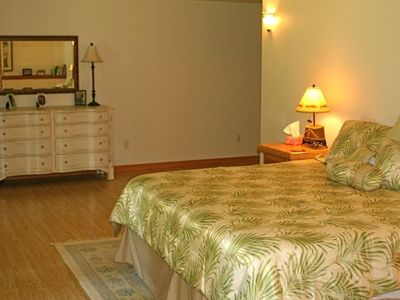 Wake up to beautiful views of Spoon Lake from the Master Bedroom