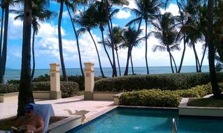 Humacao condo photo - Pool with Ocean in Background