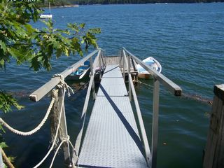 Great Island cottage photo - shared dock