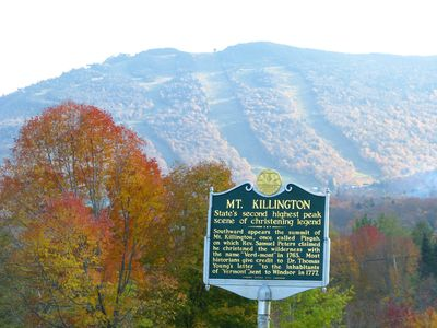 Killington Ski Resort is only 12 miles away!