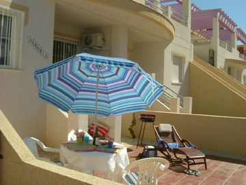 Villamartin apartment rental - Alegria's Sun-Washed Patio