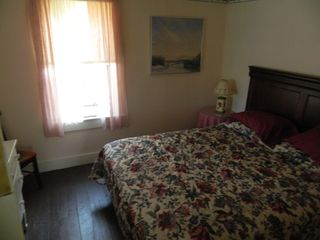 Eastbrook cottage photo - Bedroom with queen bed