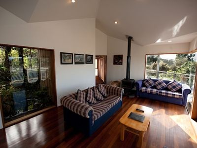 Looking from Lounge to Bedroom