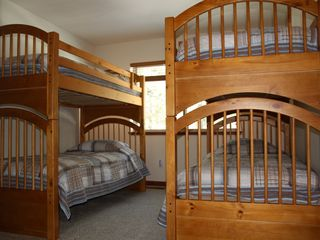 Montgomery Estates house photo - Bedroom #3: Double Bunk Beds