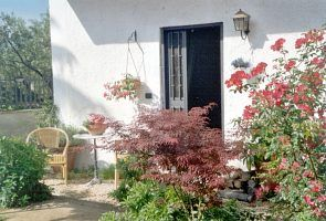 Frascati cottage rental - In front of the cottage