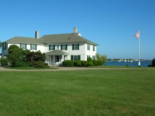 West Yarmouth house photo - Portico and Circular Drive