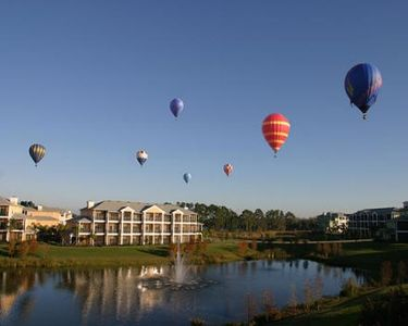 Feeling adventurous? Arrange a hot air ballon ride or just relax and watch.