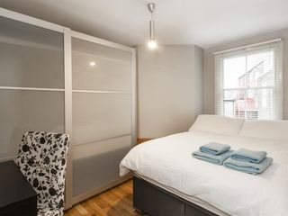 Islington apartment photo - Second Bedroom double bed, wardrobe, window, nicely dressed for you