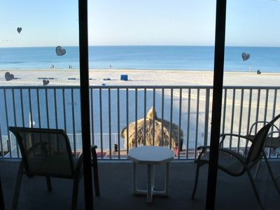 Madeira Beach condo rental - View from the living room