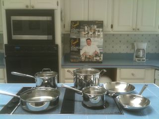 Hot Springs Village house photo - New Emeril cook ware in the kitchen