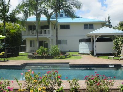 Custom Plantation style house with your private pool.